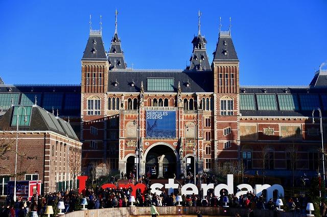 アムステルダム美術館外観