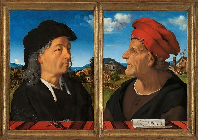 ピエロ・ディ・コジモ 『ジュリアーノ・ダ・サンガッロの肖像』