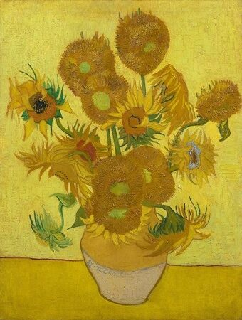 フィンセント・ファン・ゴッホ 『ひまわり』 Vincent van Gogh|The Bedroom|1889|image via van Gogh museum