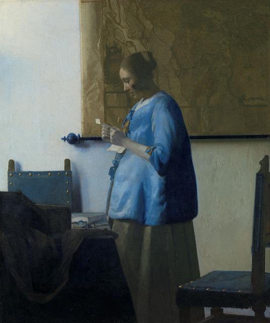 ヨハネス・フェルメール 『手紙を読む青衣の女』