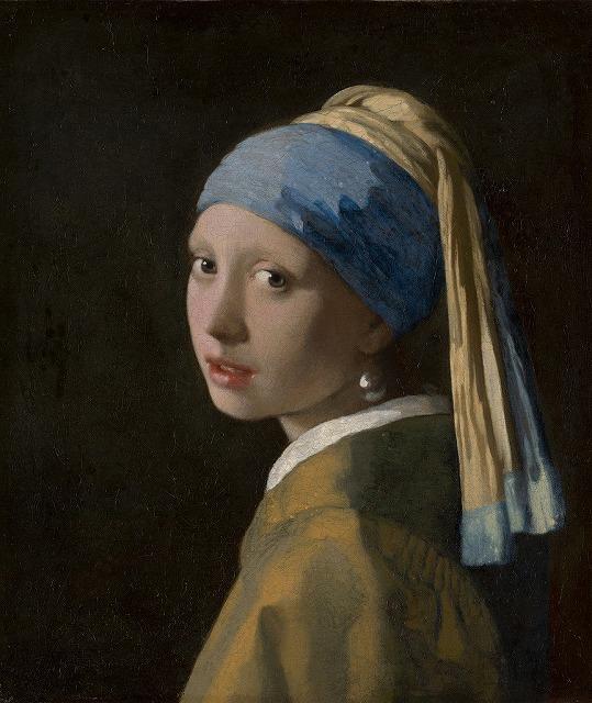 ヨハネス・フェルメール 『真珠の耳飾りの少女』