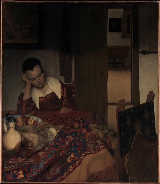 ヨハネス・フェルメール 『眠る女』